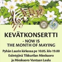 Kevätkonsertti - Now is the Month of Maying