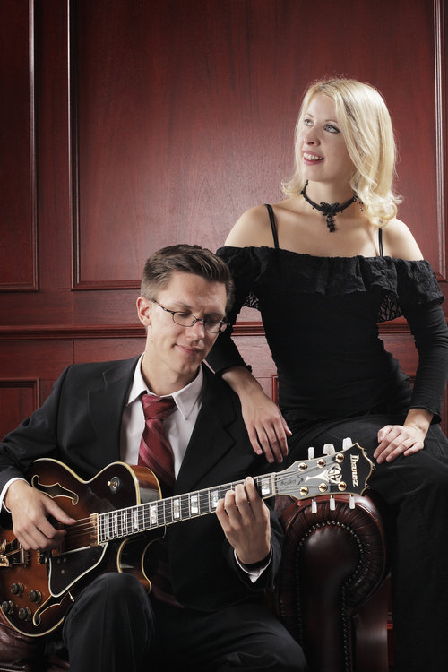 Christmas Jazz – Mariah Hortans & Mathias Sandberg Duo