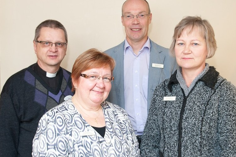 Hospital chaplains in Vantaa